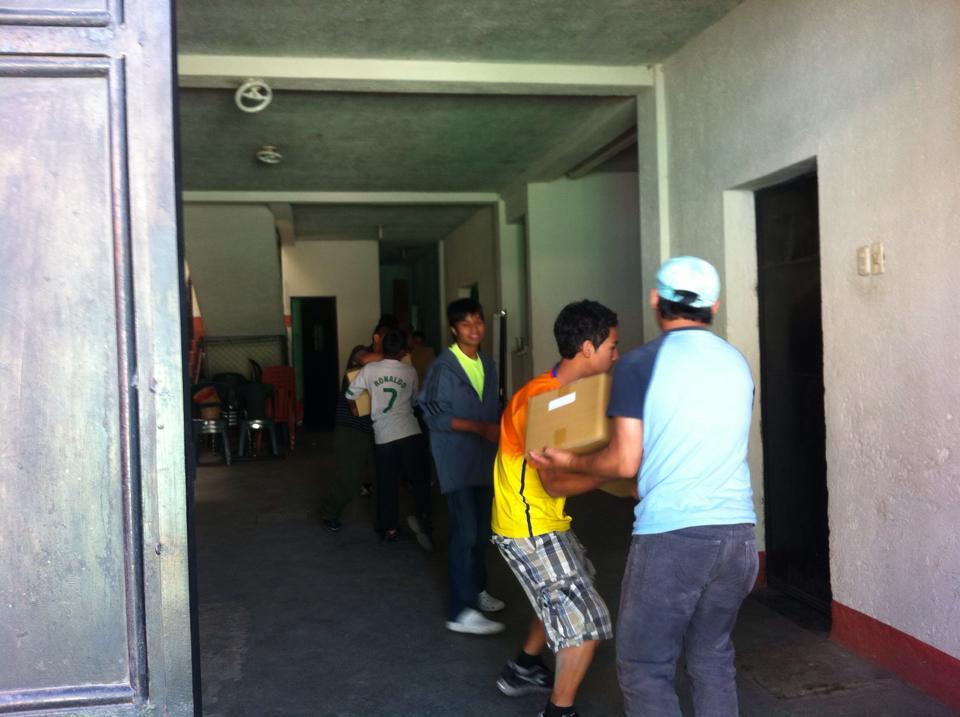BP boys movein boxes