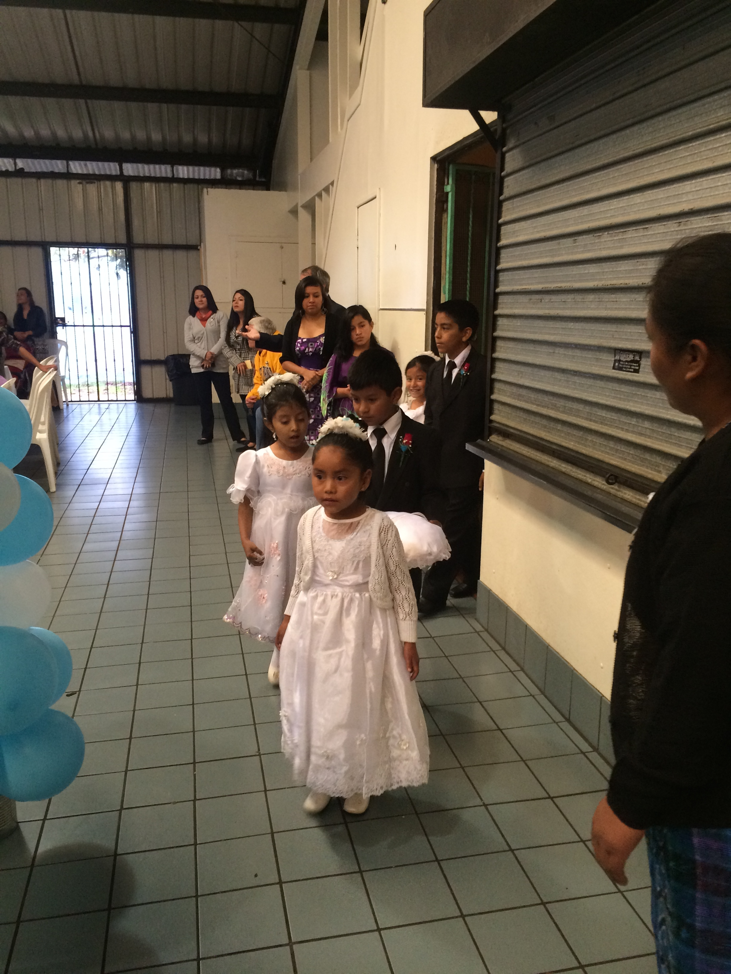 I always love to see the expressions on the kids in the wedding party