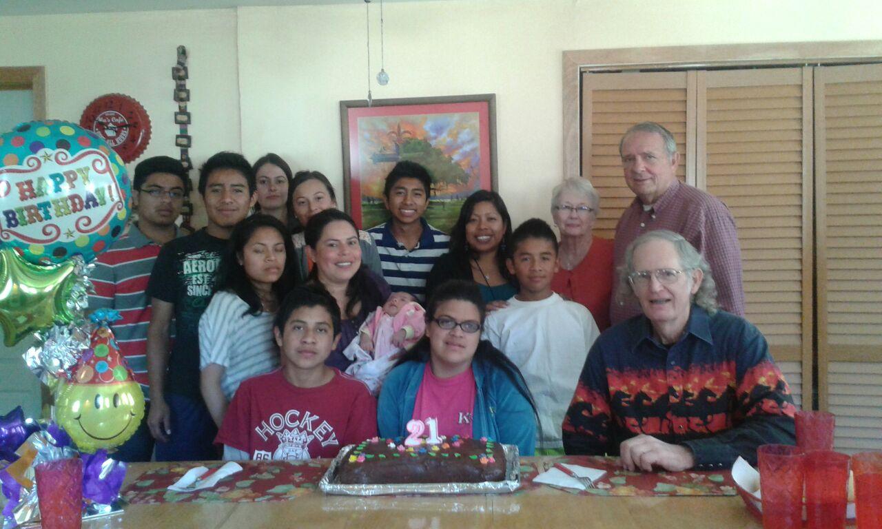Mcihelle's birthday party