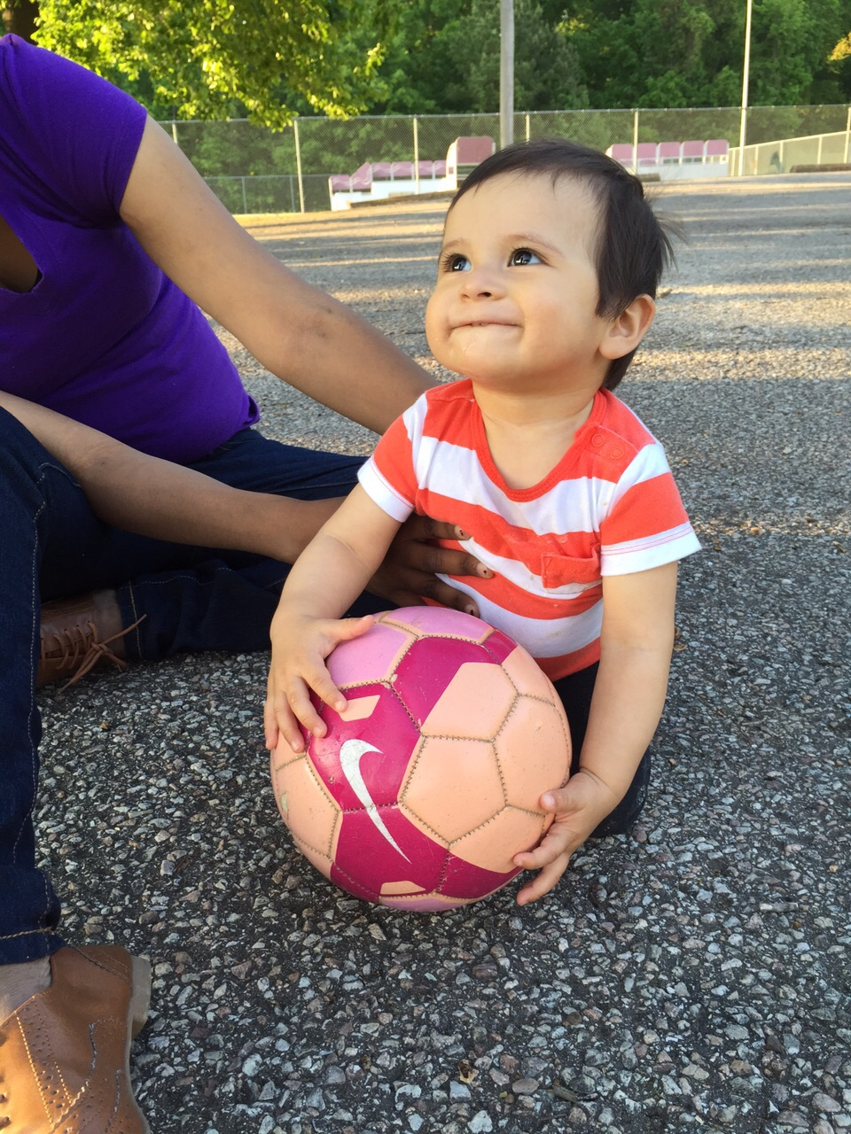 We begin getting them ready early for World Cup!!