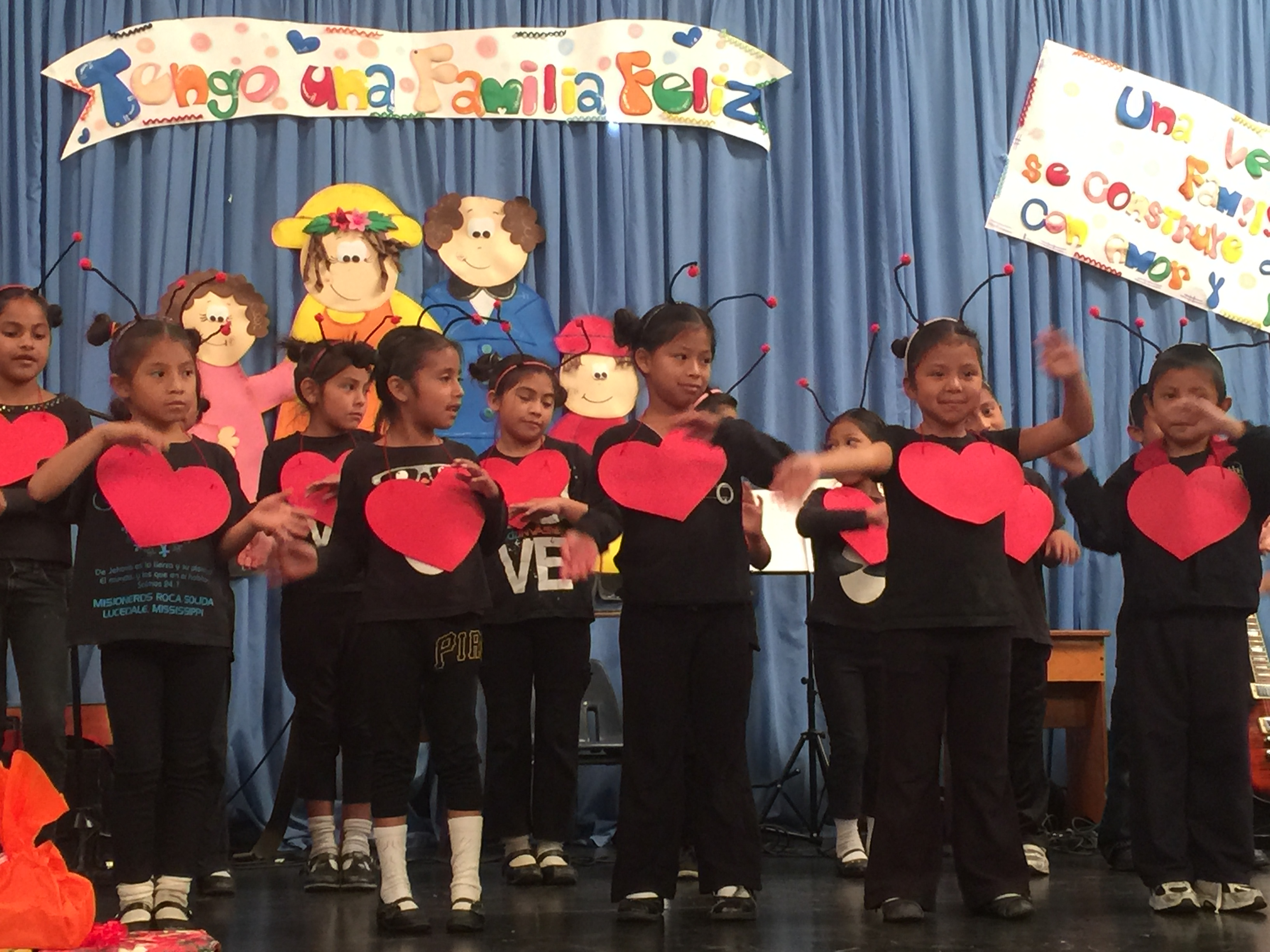 First grade performing