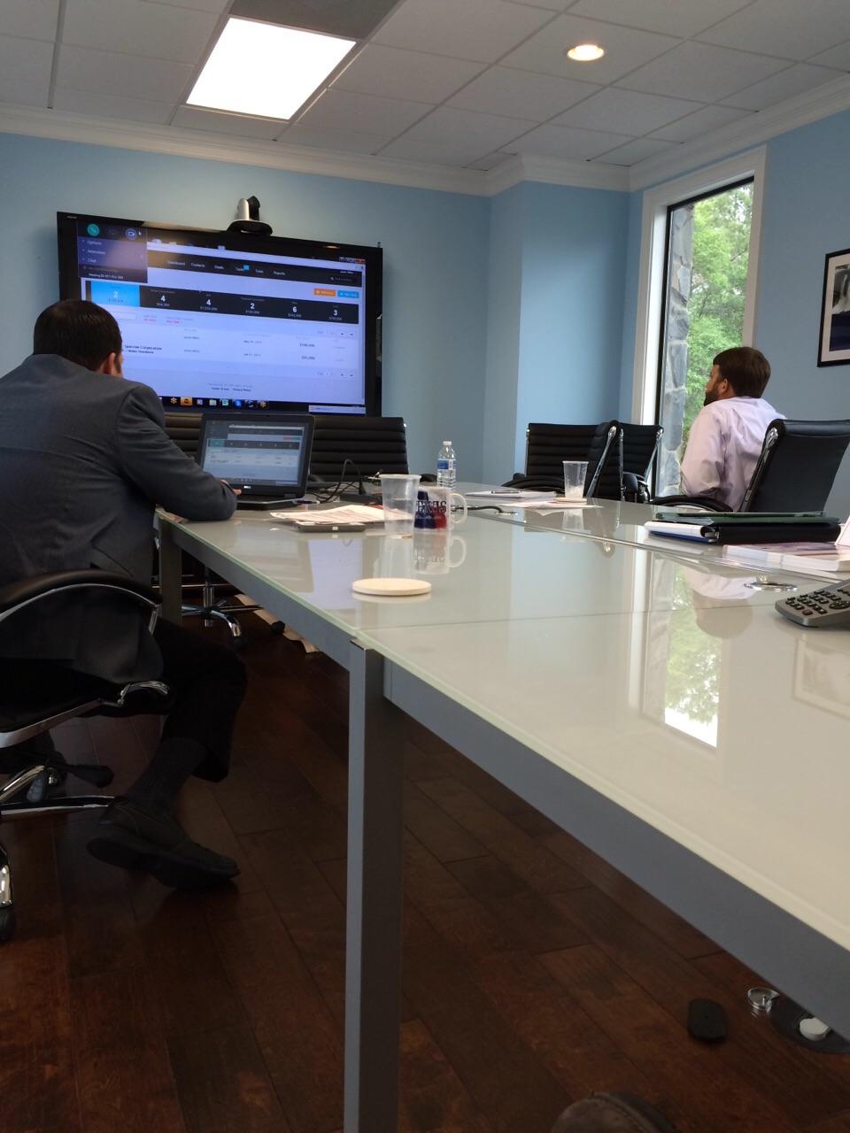 Josue & Les working on Telemedicine in Georgia