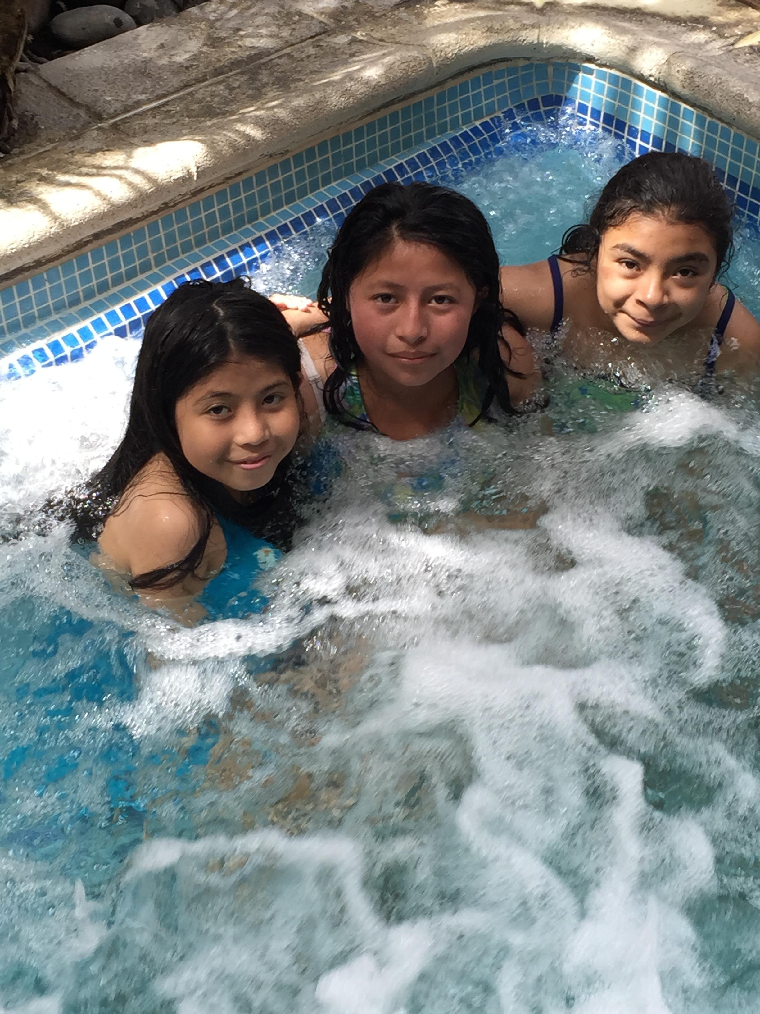 They love the pool & sauna.