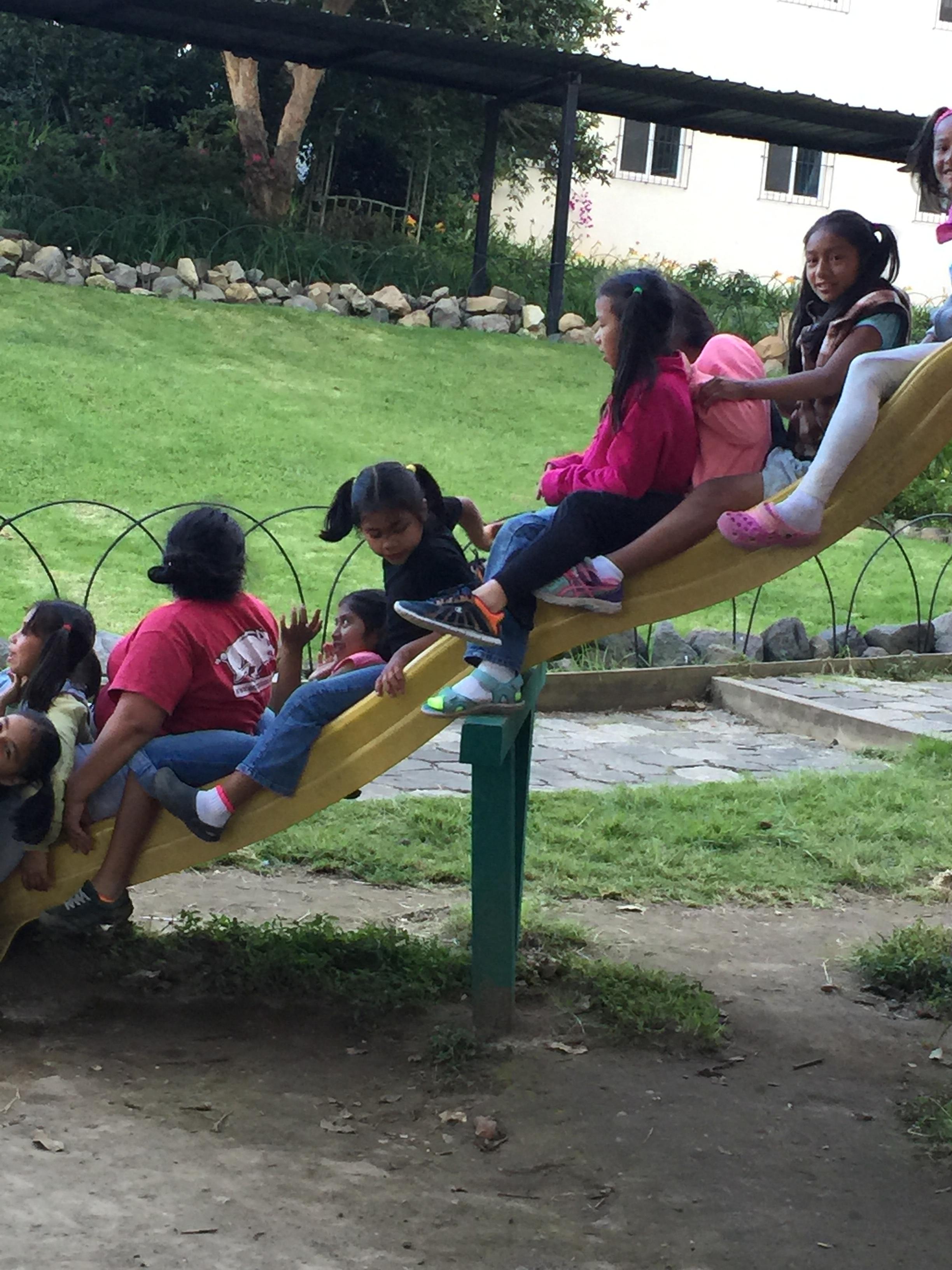 A slide train