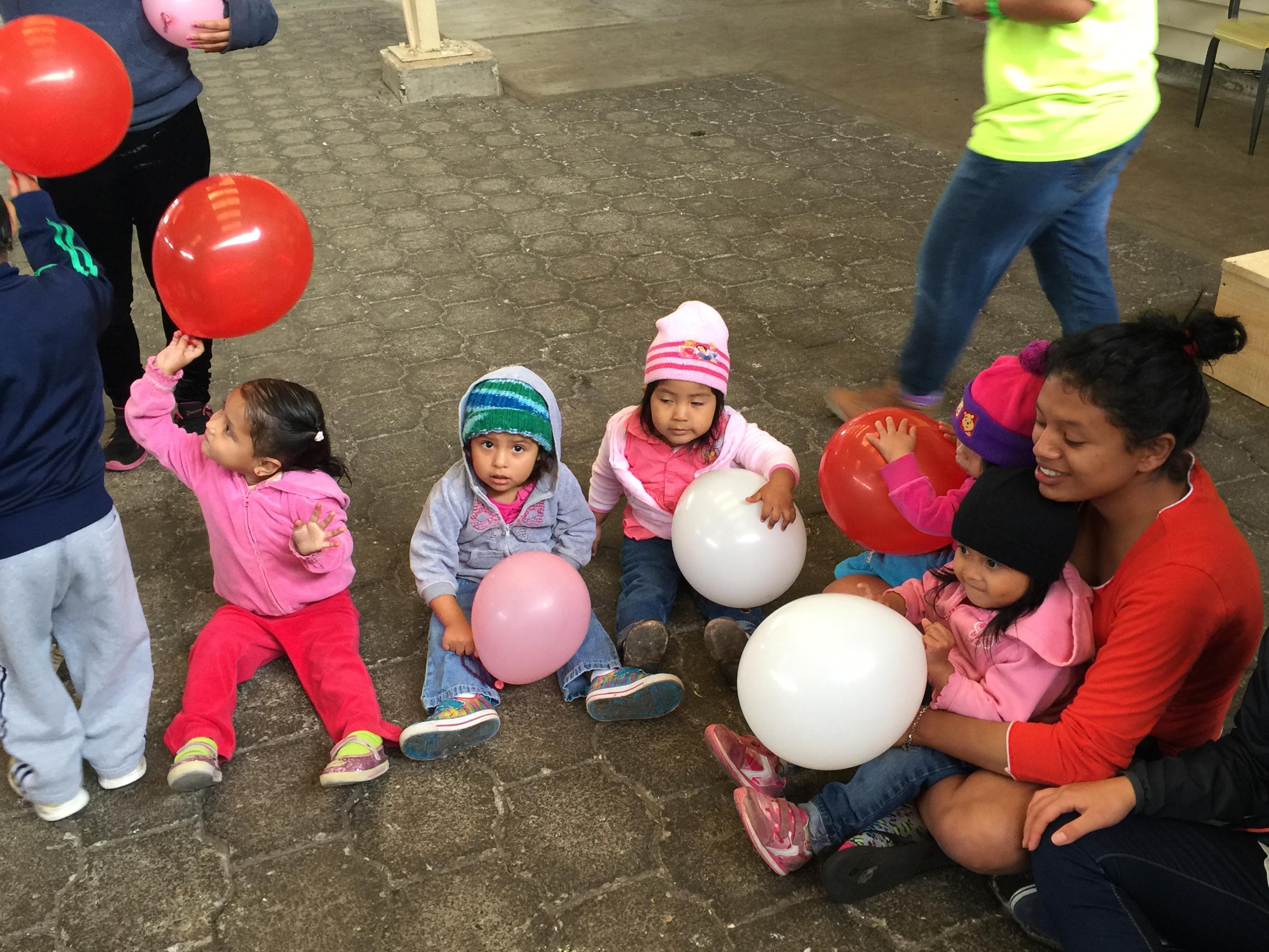 Everyone gets a balloon