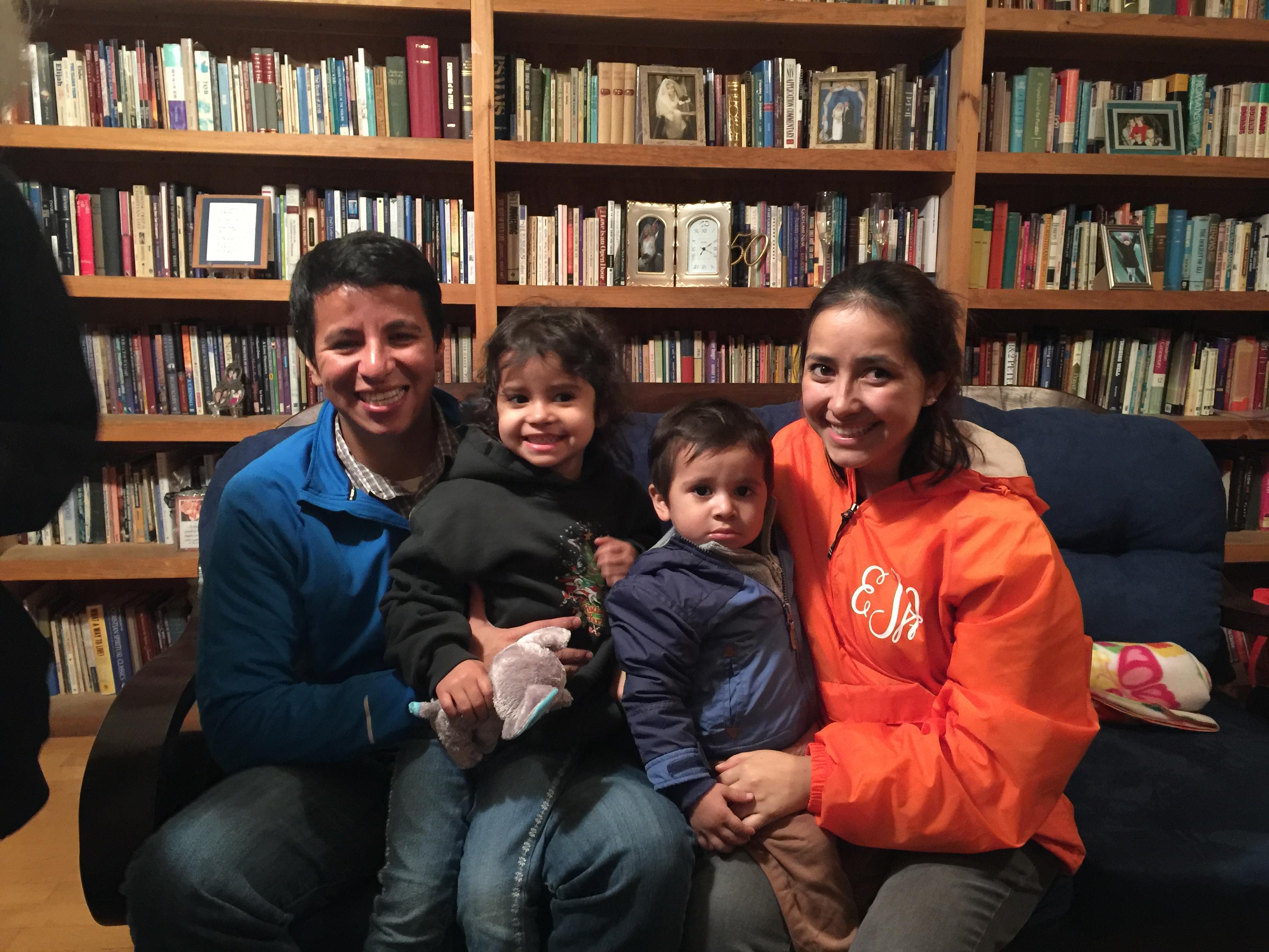 Jose' and Estella with our grandchildren
