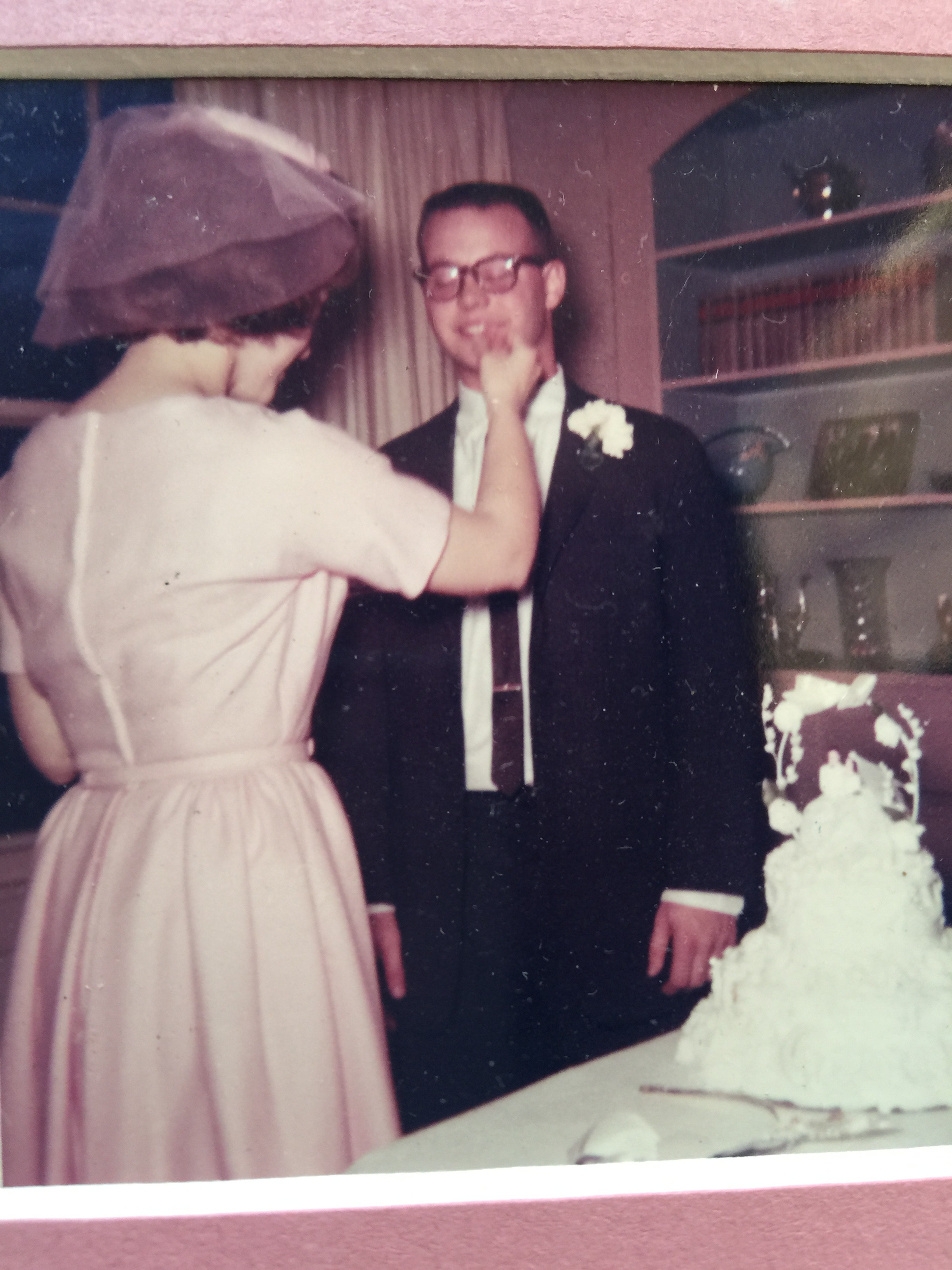 Those were the days--February 10, 1963. Now she does not let me eat cake.