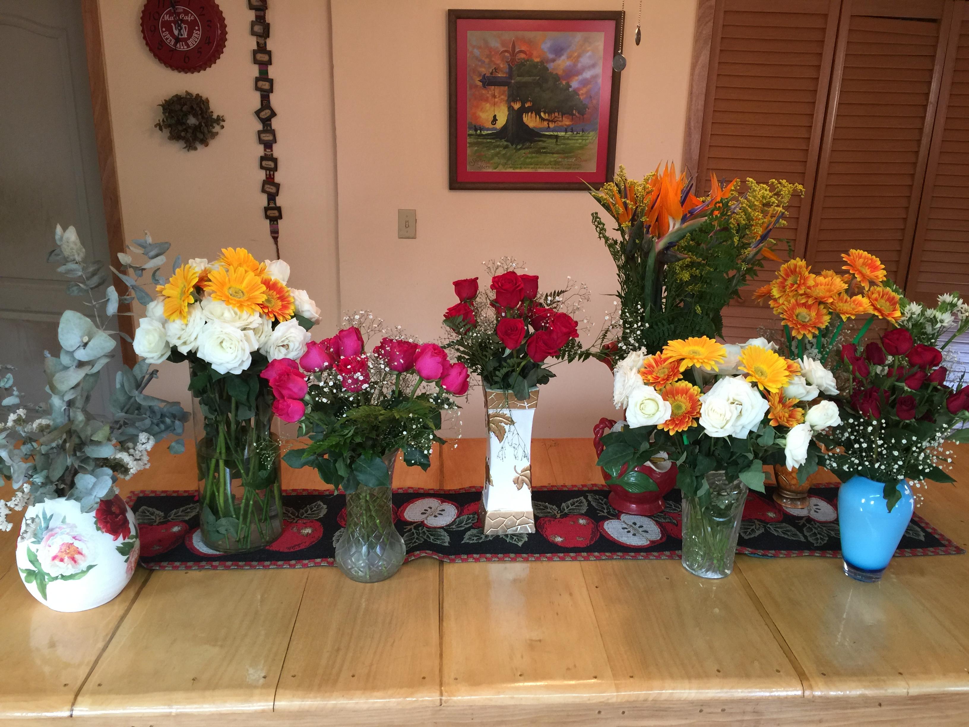More of Dottie's birthday flowers