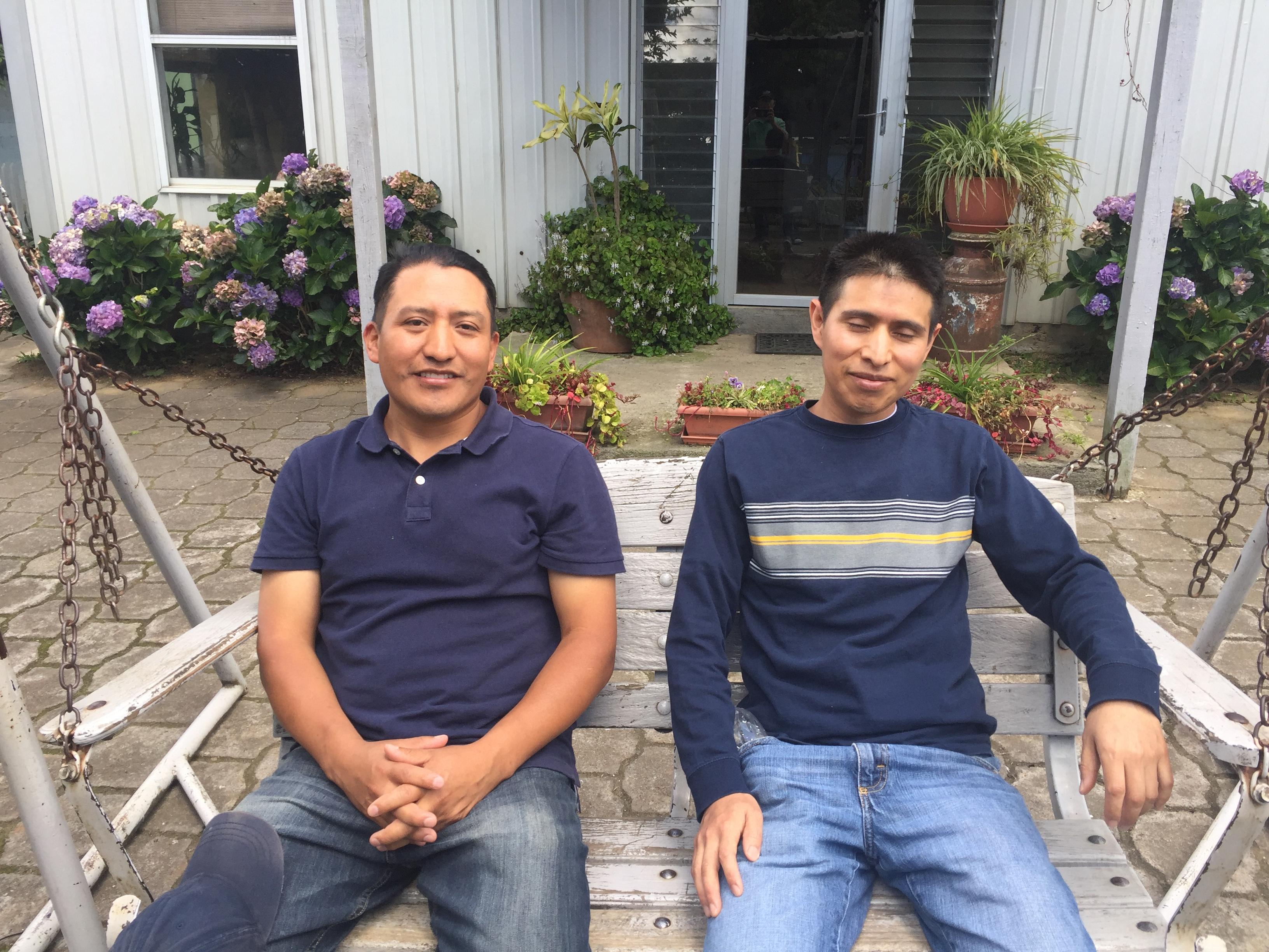 Ruben and Rigoberto