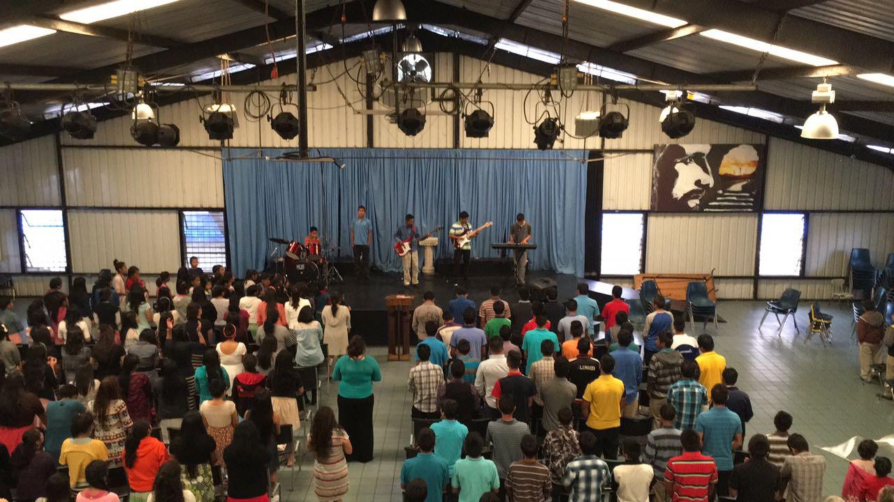 The children seeking more of God