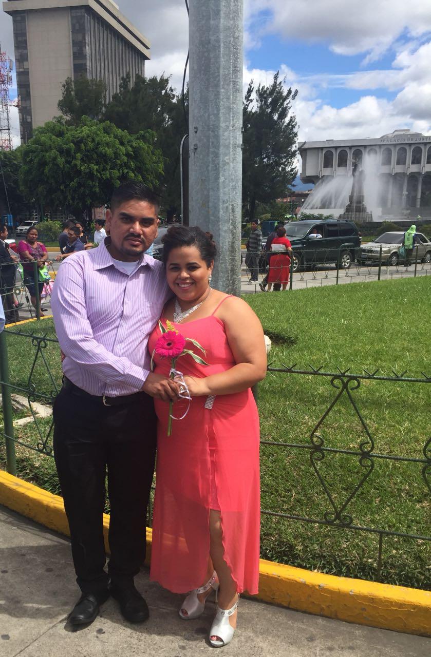 Civil wedding for Ricardo and Dorothy